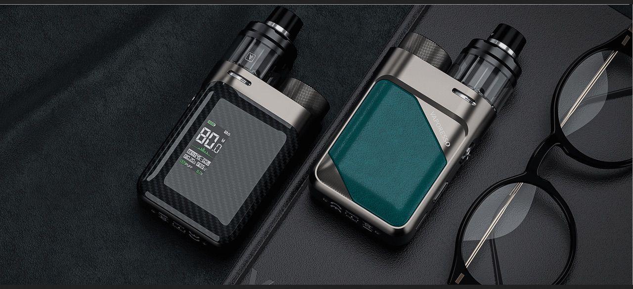 Vaporesso Luxe : nos conseils pour acheter le kit idéal - Vaporesso SWAG TC Box mode 80W noir